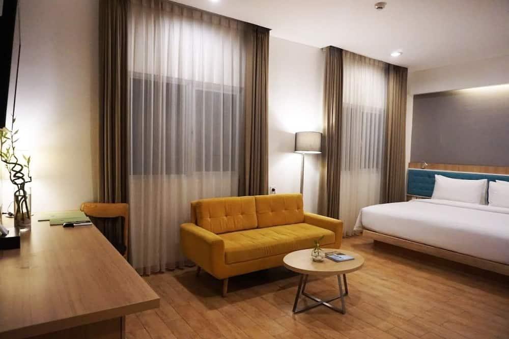 Suite estudio junior, 1 cama de matrimonio grande - Habitación