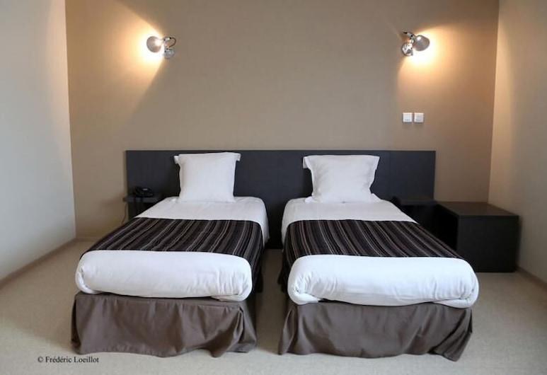 Hôtel le Râle des Genêts, Dun-sur-Meuse, Twin kamer, Kamer