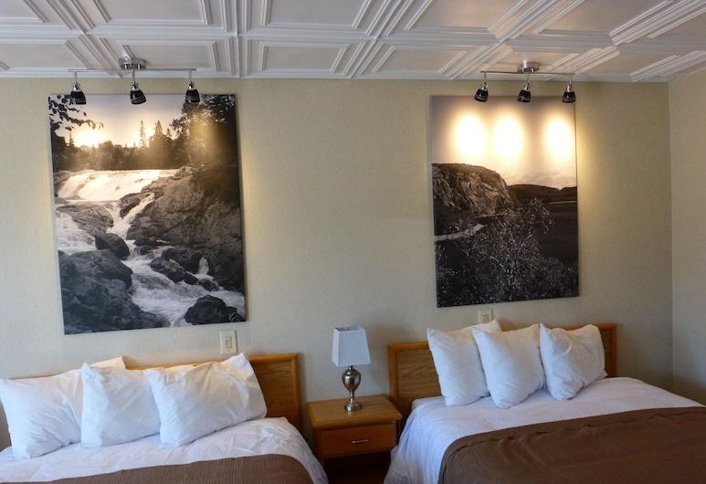 Catalina Motel, Sault Ste. Marie, Quarto Standard, 2 camas de casal, Quarto