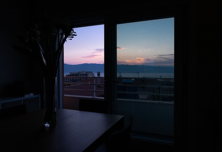 Pellicano Guest House, Reggio Calabria, Panoramic Penthouse, 2 Bedrooms, 2 Bathrooms, Tower, Beach/Ocean View