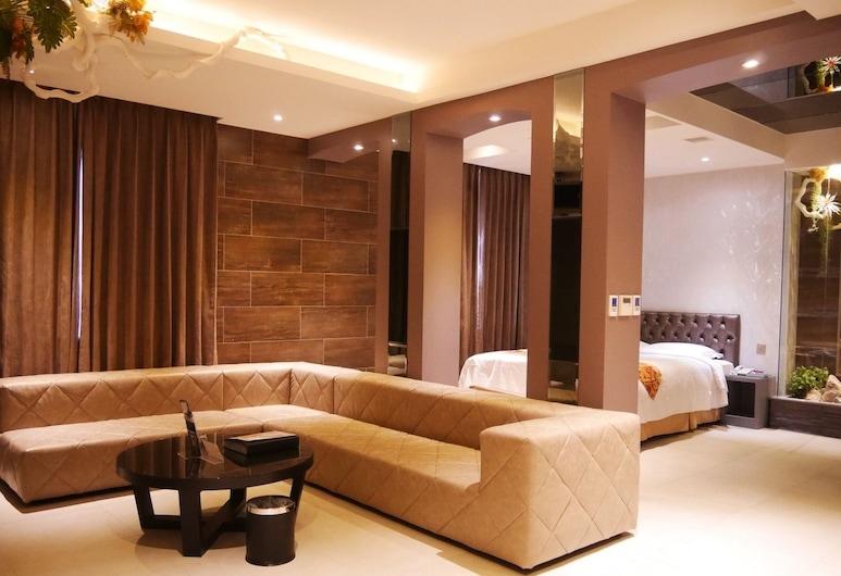 竹林雅緻商務汽車旅館, 台中市, 尊尚雙人房, 客房