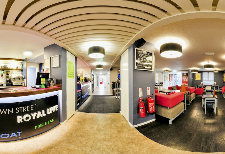 YHA Liverpool Albert Dock - Hostel, Liverpool, Hotel Lounge