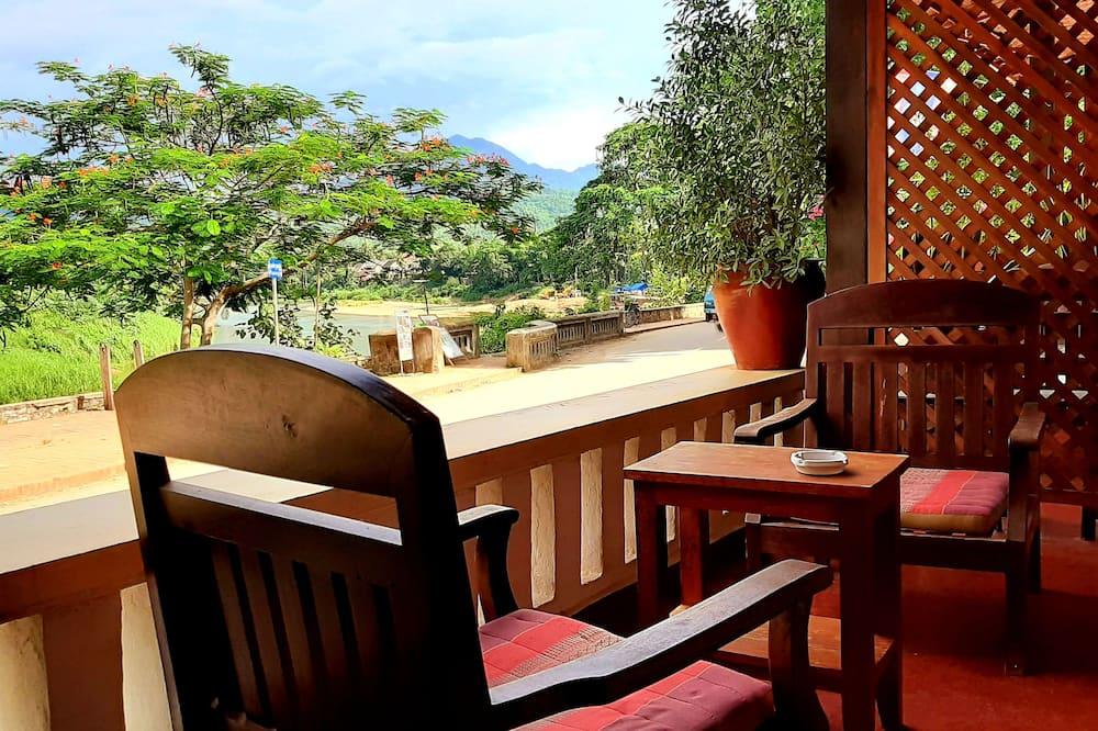 Superior Double Room Balcony - River View - Balcone