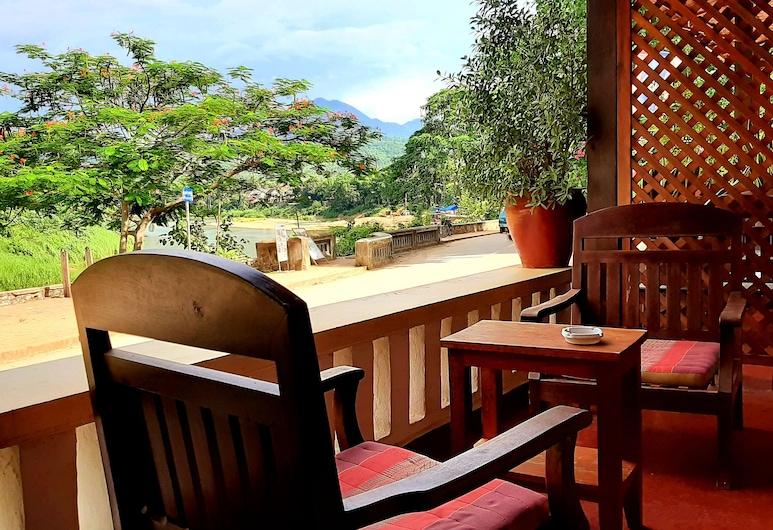 Saynamkhan River View, Λουάνγκ Πραμπάνγκ, Superior Double Room Balcony - River View, Μπαλκόνι
