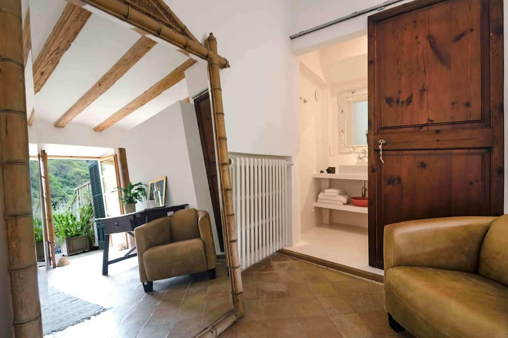 Double Room, Terrace - Living Area