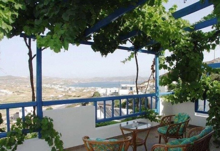 هوتل أجنانتي, ميلوس, شقة - بمنظر للبحر, تِراس/ فناء مرصوف