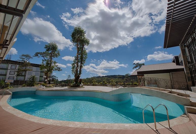 뉴타운 플라자 호텔, 바기오, 야외 수영장
