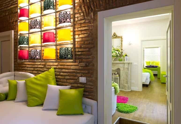 Domus Spagna Capo le Case Luxury Suite, Rome, Suite - boblebad - i anneksbygning (Condotti), Værelse
