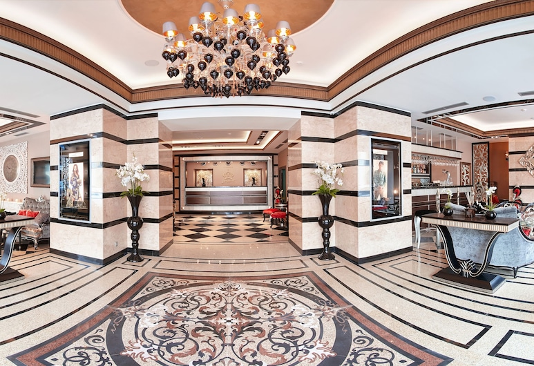 Majestic Boutique Hotel DeLuxe, St. Petersburg, Lobby