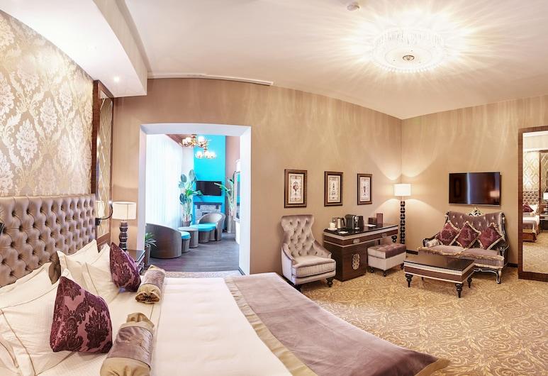Majestic Boutique Hotel DeLuxe, Petrohrad, Apartmá typu Executive, Pokoj