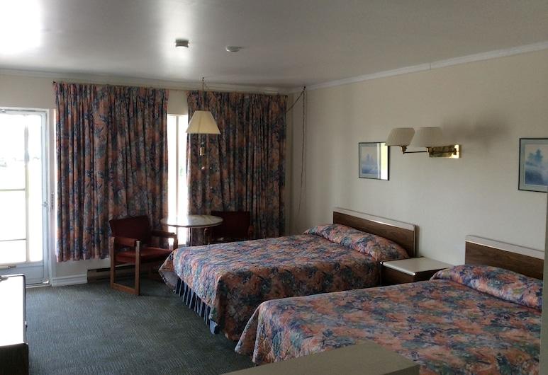 Embassy Motel, Kingston, Standardzimmer, 2Doppelbetten, Zimmer
