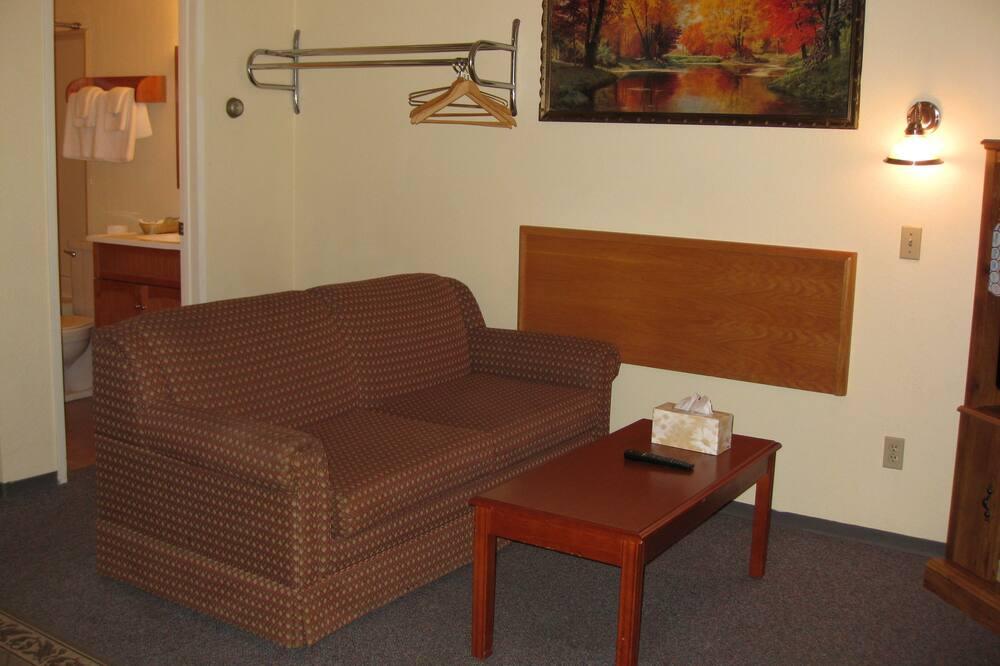 Family Room, Multiple Beds, Kitchenette - Living Area