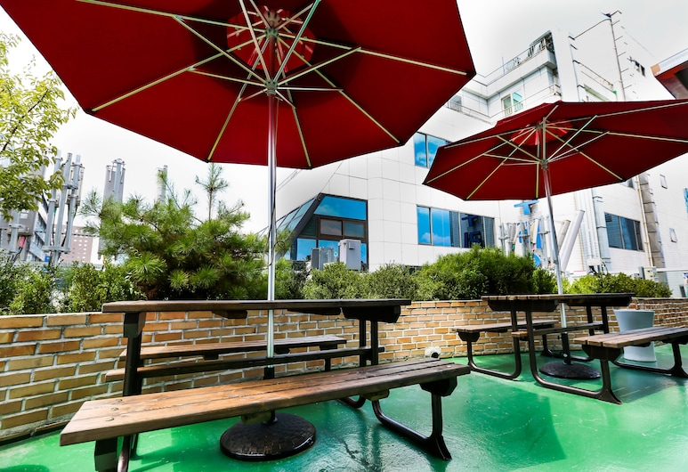 石黛飯店, 首爾, 露台