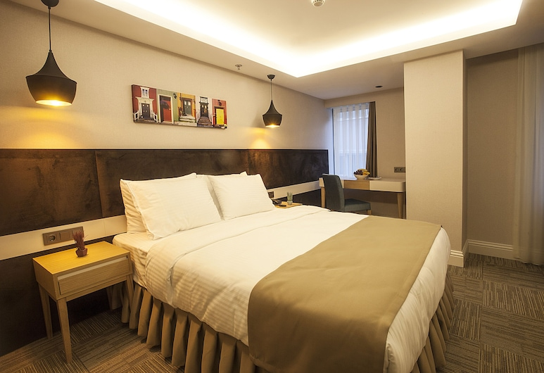 자리나 파르크 수이테스 니산타시, 이스탄불, One Bedroom Apartment with kitchenette (Tek yatak odali daire mini mutfakli), 객실