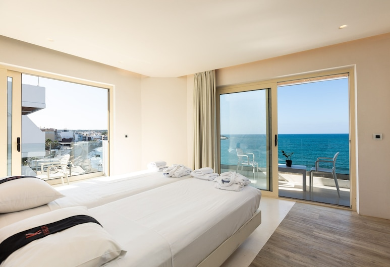 كالوا هوتل آند سويتس, Hersonissos, Suite, Sea View, غرفة نزلاء