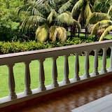 Royal suite, 1 spavaća soba, balkon, pogled na vrt - Balkon