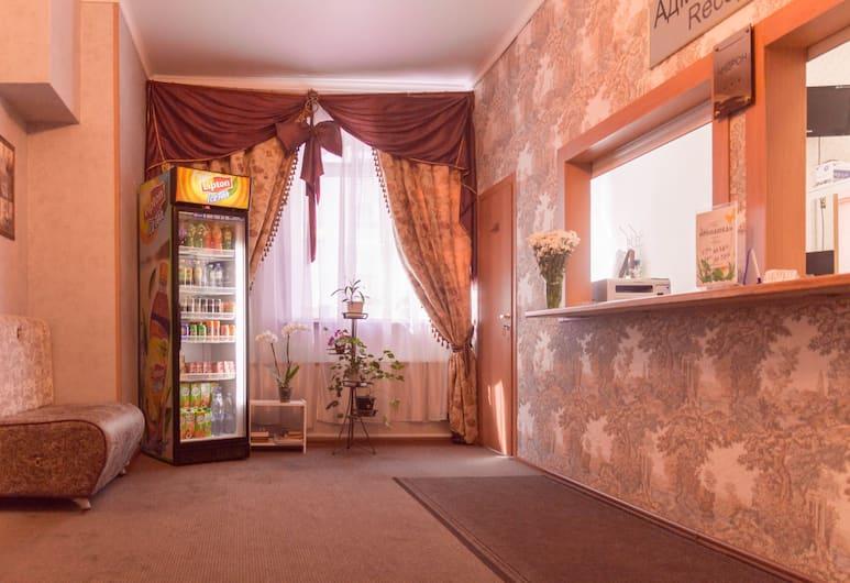 Андрон-отель, Москва, Стойка регистрации