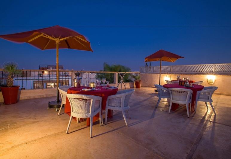 Riad Charai, Marrakech, Terraza o patio