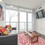 Penthouse Premium, 2 kamar tidur, 2 kamar mandi, pemandangan kota - Ruang Keluarga
