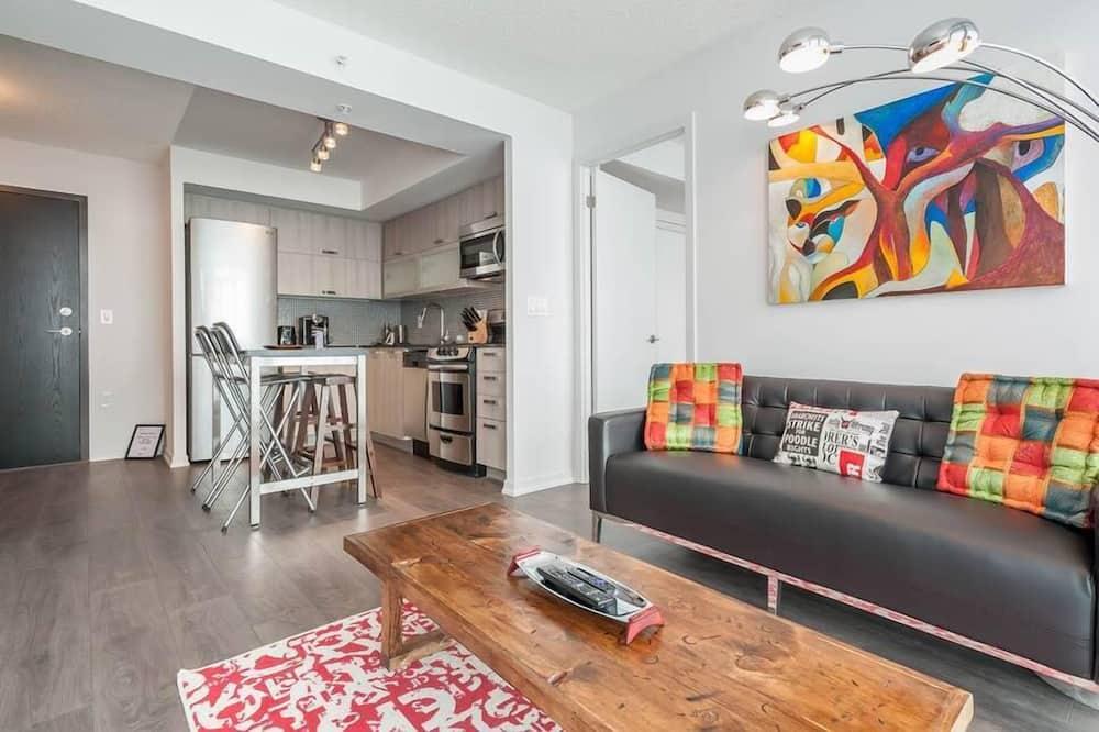 Penthouse Premium, 2 kamar tidur, 2 kamar mandi, pemandangan kota - Area Keluarga