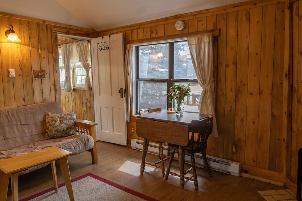 Cottage, 1 letto matrimoniale con divano letto - Area soggiorno