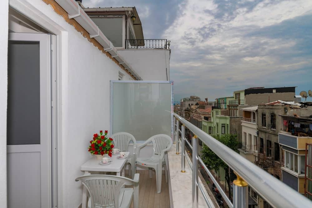 Deluxe Triple Room, Balcony, Sea Facing - Balcony View