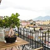 Panoramic Studio, 1 Bedroom, Kitchenette, Sea View - Balcony