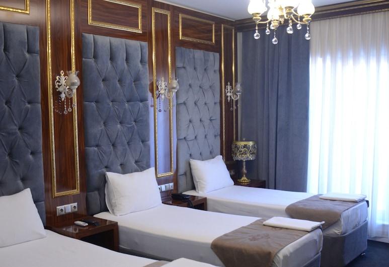 Sahra Airport Hotel, Isztambul, Standard háromágyas szoba, Vendégszoba