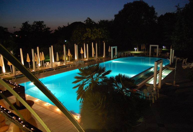 Hotel Terme Orvieto, Abano Terme, Udendørs pool