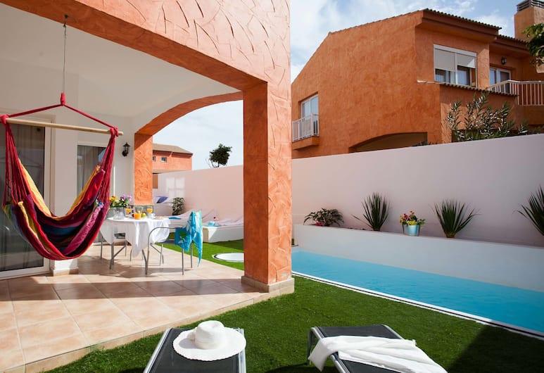 Villa Paradise, La Oliva, Villa, 1 soverom, Terrasse/veranda
