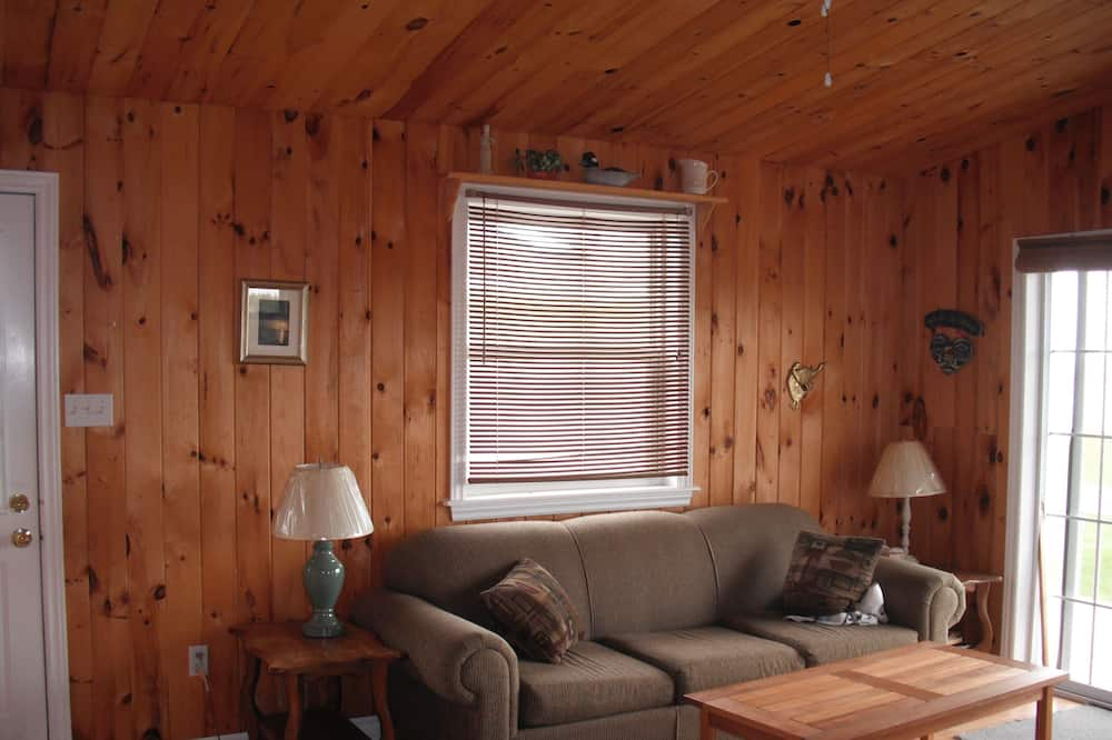 Cottage Familial, 2 chambres, vue océan (Elizabeth) - Salle de séjour