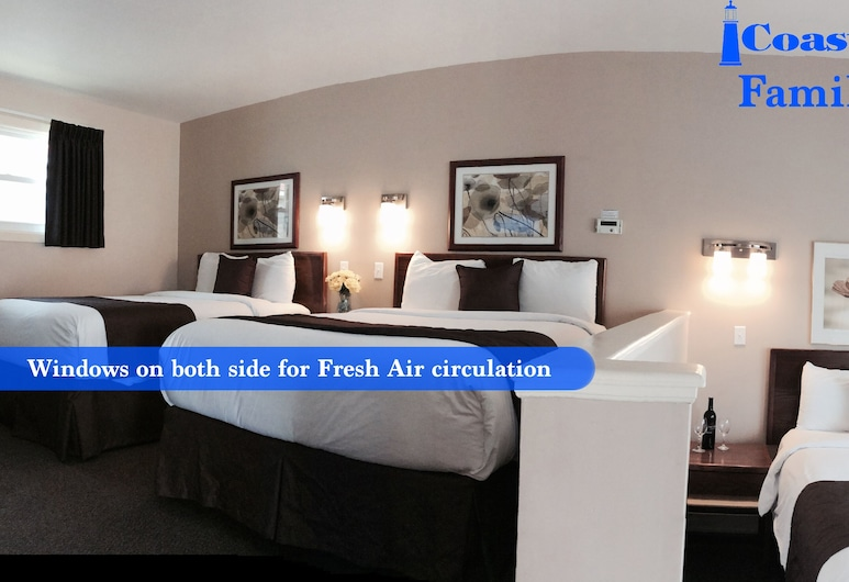 Coastal Inn Antigonish, Antigonish, Perhehuone kolmelle, Useita sänkyjä, Vierashuone