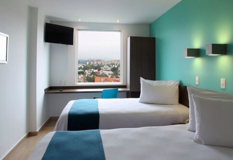 One Ciudad de México Periférico Sur, Mexico City, Superior Twin Room, 2 Twin Beds, City View, Guest Room