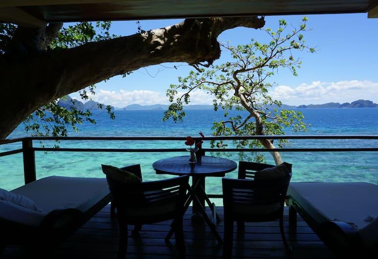 維拉哥渡假村 - 僅供成人入住, 愛妮島, 豪華客房, 海灘景觀, 陽台