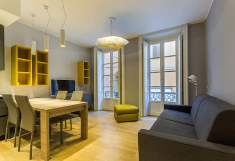 Fifty Eight Suites, Μιλάνο, Διαμέρισμα (Via Borgospesso 12), Περιοχή καθιστικού
