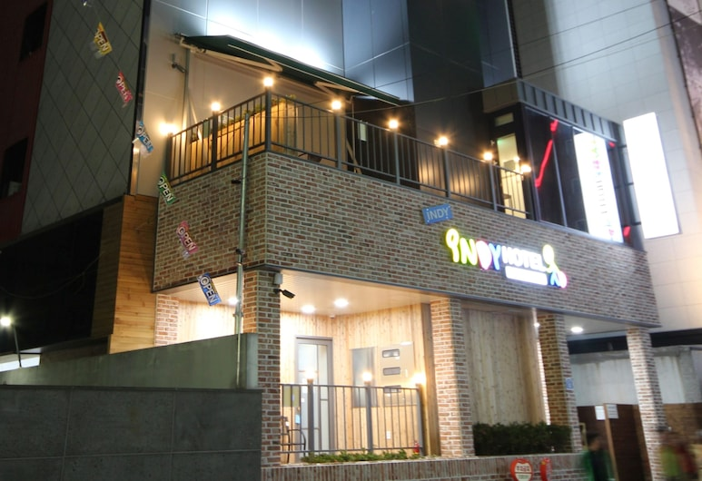 Indy Hotel, Busan, Hotel Front – Evening/Night