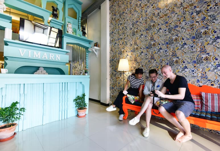 Vimarn Hostel, Bangkok, Miejsce do wypoczynku