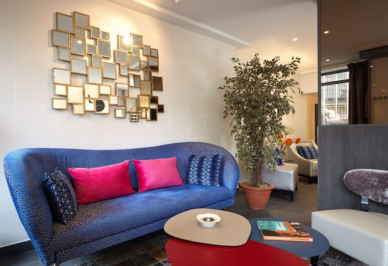 Hôtel Miramar, Paris, Lobby Sitting Area