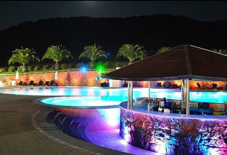 Residence Hotel Monte Ricciu, Alghero, Bar Tepi Kolam