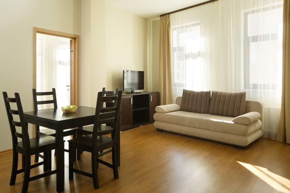 Apartment, Kitchen (Building 1) - Living Area