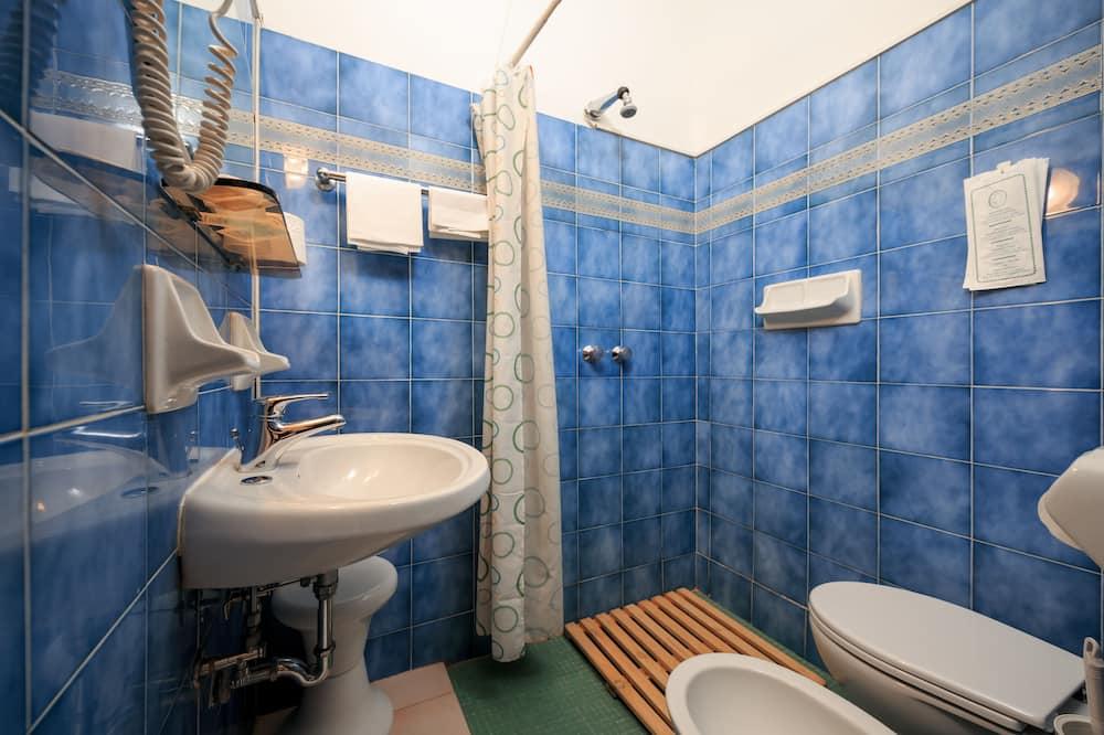 Economy-Einzelzimmer - Badezimmer