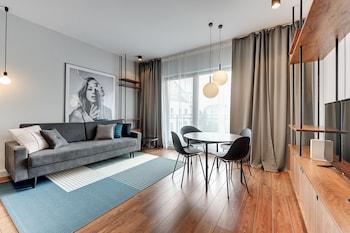 Mynd af Apartinfo Island Apartments í Gdansk
