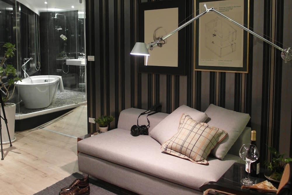 디럭스룸 (George) - 거실 공간