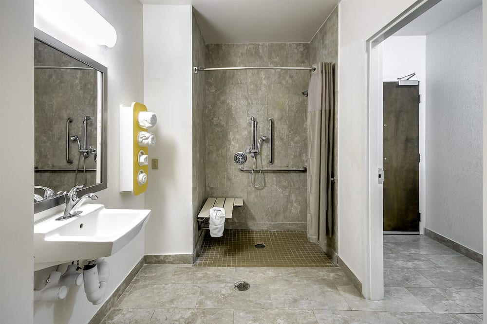 Стандартный номер, 1 двуспальная кровать «Квин-сайз», для некурящих - Ванная комната