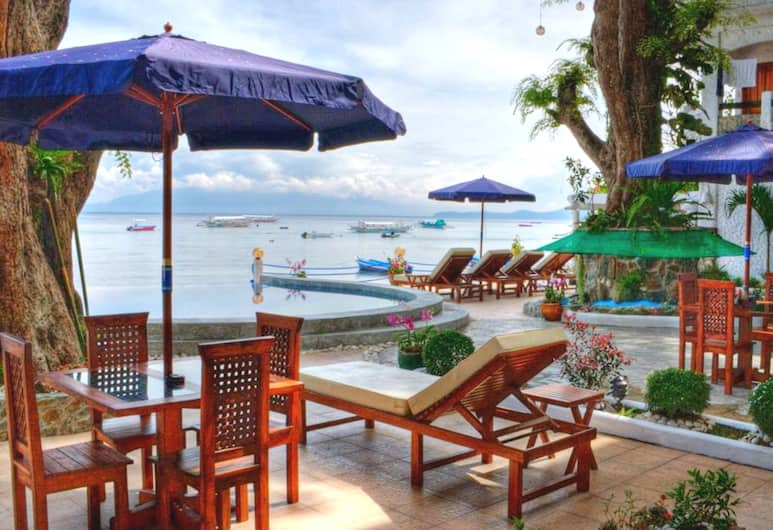 Angelyn's Dive Resort, Puerto Galera, Outdoor Dining