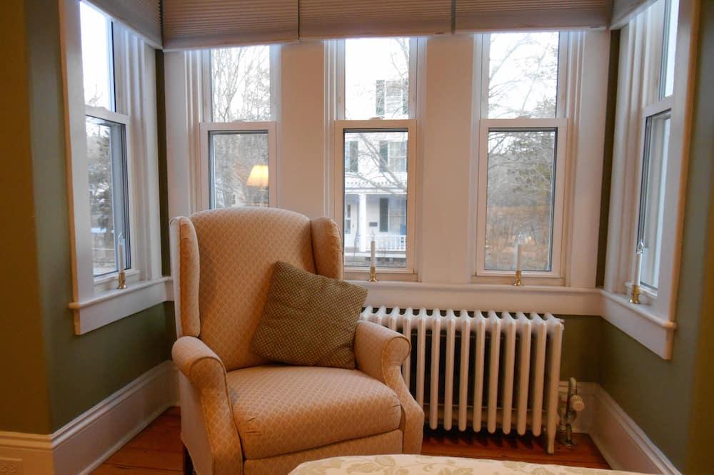 Habitación romántica, 1 cama Queen size, en la esquina - Sala de estar