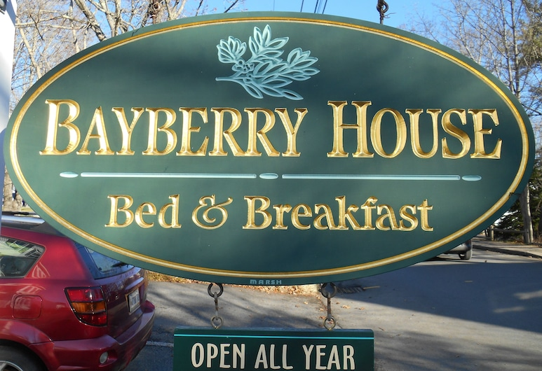Bayberry House Bed and Breakfast, Boothbay Harbor, Entrada del hotel