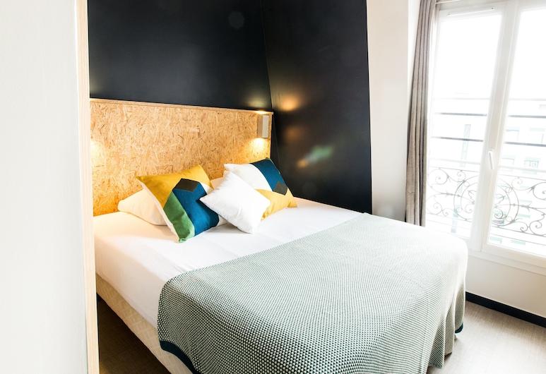 Beautiful Belleville Hostel & Hotel, Parijs, Superior tweepersoonskamer, 1 queensize bed, Kamer
