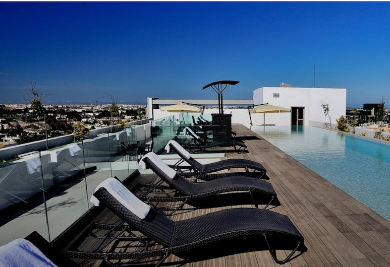 Kenzi Sidi Maarouf Hotel, Casablanca, Terraza o patio