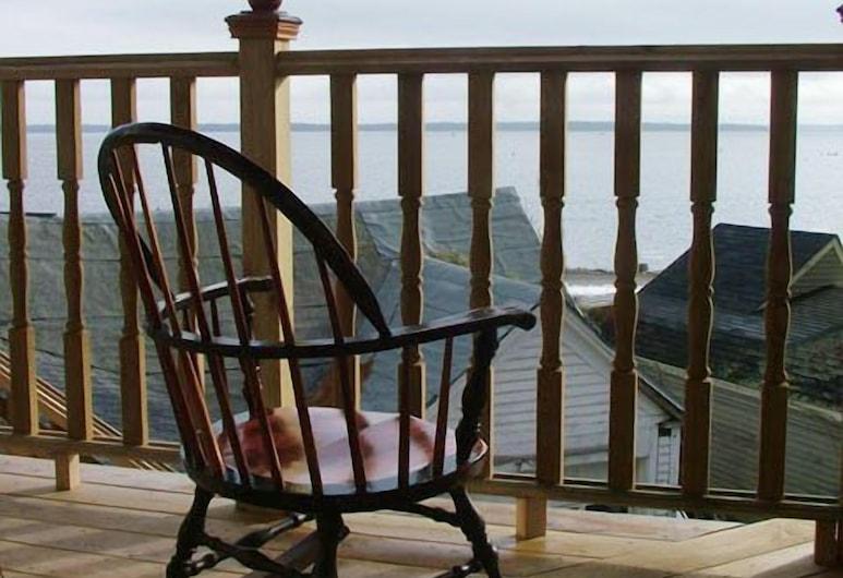 Beach Cottage Inn, Lincolnville, Apartmán, 1 veľké dvojlôžko, orientovaný smerom k oceánu, Kúpeľňa